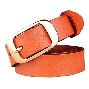 Cinturón de Cuero Genuino de la Vendimia de Las Mujeres Pin ...