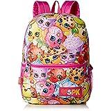 Shopkins Girls' All Over Print Backpack, Multi