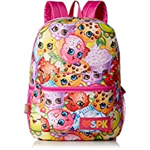 "Backpack - Shopkins - Canvas 16"" Pink Love SPK 434280"