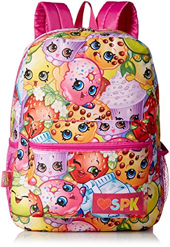 Shopkins Girls' All Over Print Backpack