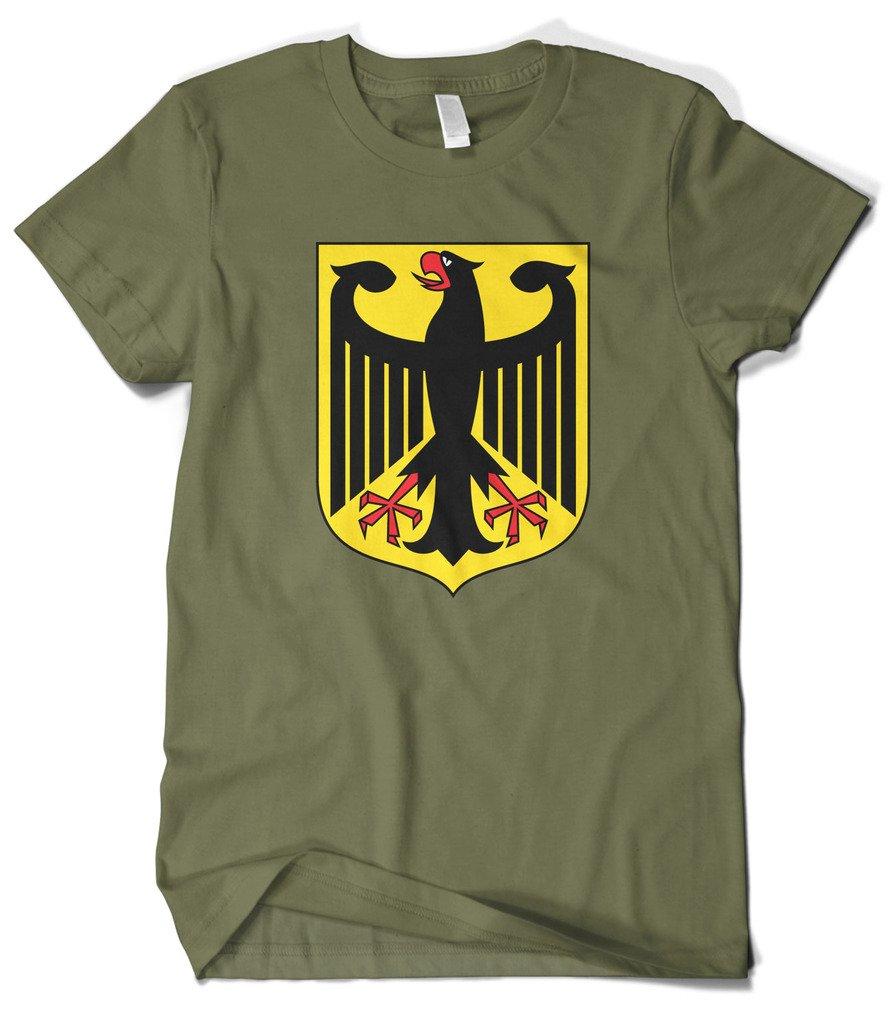 S German Coat Of Arms Eagle Shield Tshirt