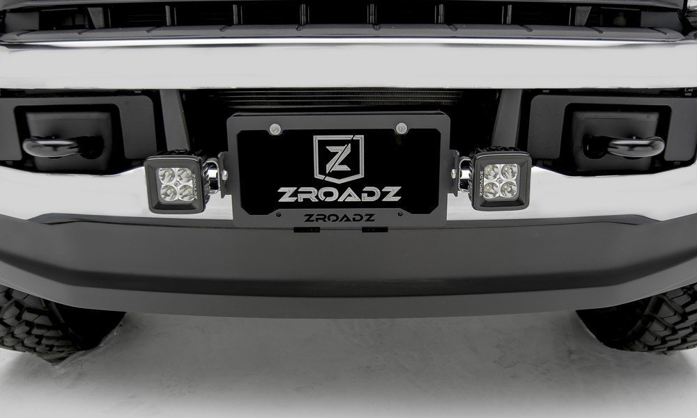ZROADZ Z310005-KIT Black License Plate Frame Kit