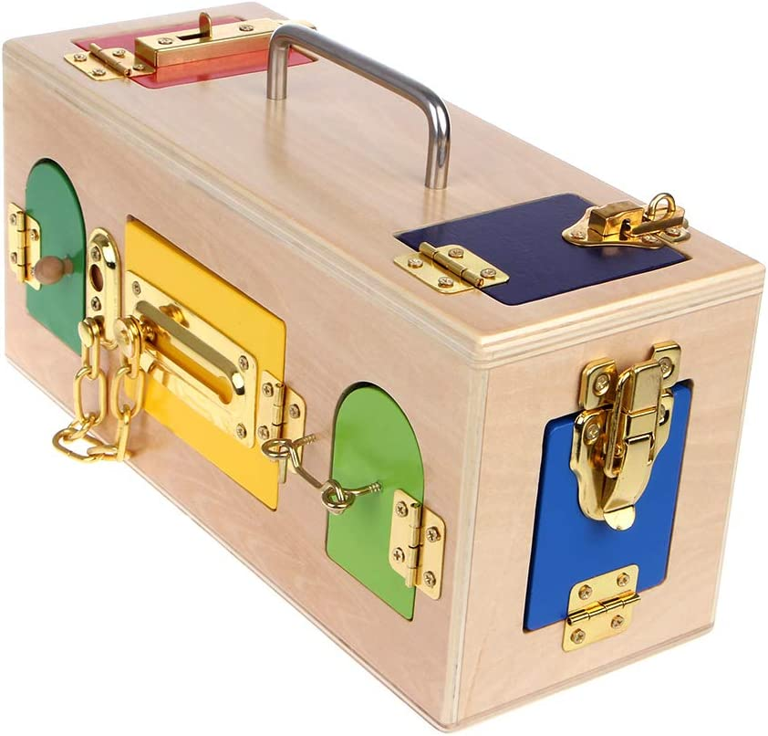 Vivianu Kids Montessori - Caja colorida para niños: Amazon.es: Hogar