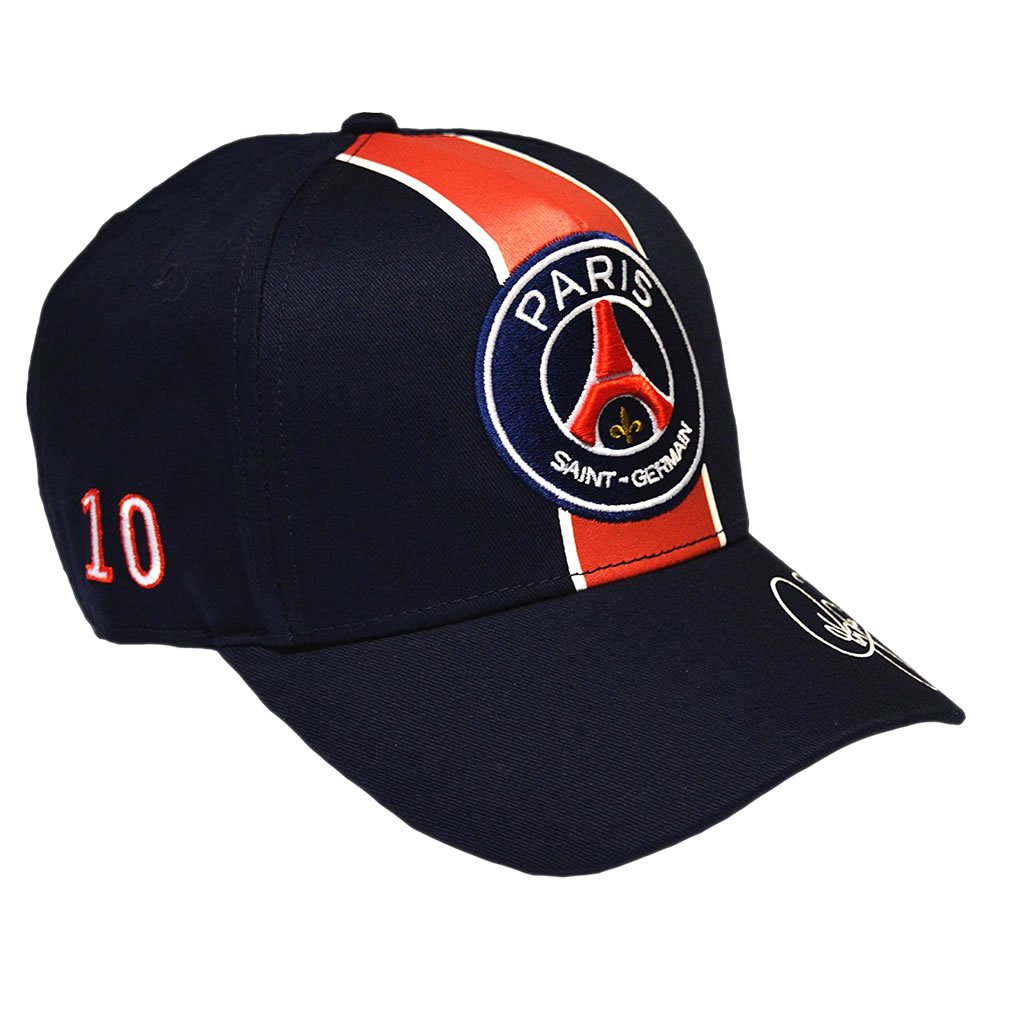 PSG - Official Paris Saint-Germain Neymar Jr Signature Cap - Blue at Amazon Mens Clothing store: