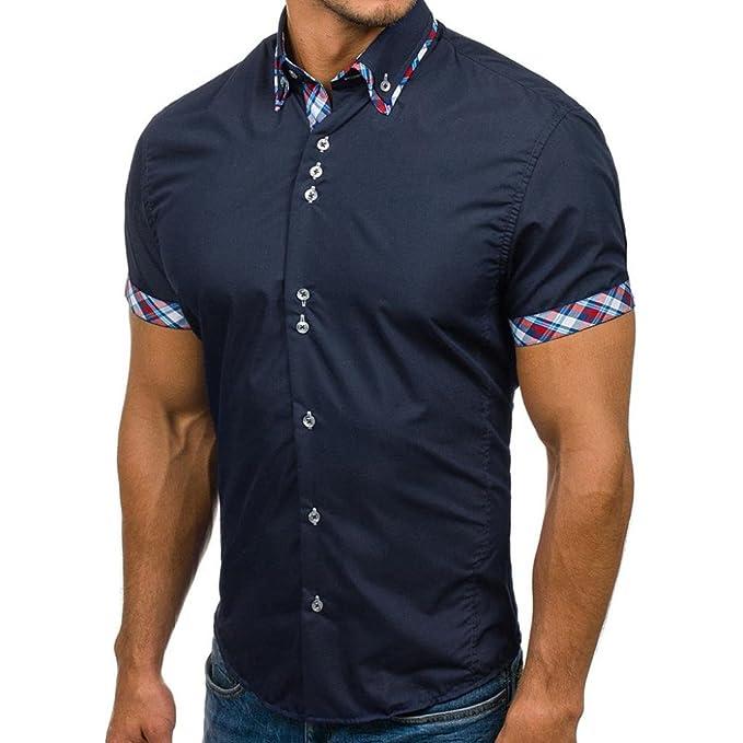 Longra Herren-Hemd – Slim-Fit Hemd Shirt – Bügelleicht – Für Anzug ... 8b5757e5a6