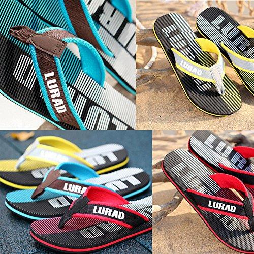 Zapatillas de interior y exterior para hombre Skidproof Casual Zapatillas pTgdCHG0
