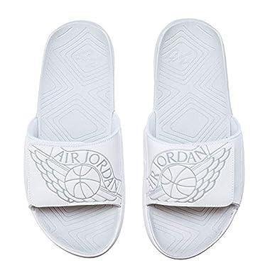 best authentic e1b4f 044bd NIKE Jordan Hydro 7 Mens Sandals AA2517-100 14 - White Pure Platinum