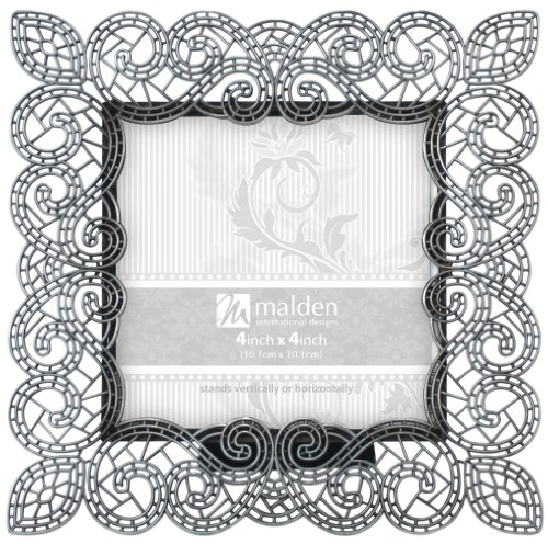 """Sabella Lace 4"""" x 4"""" Picture Frame"""