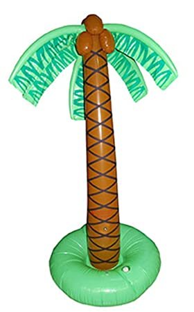 karnevals Bud - Gran palmera hinchable Hoola Aloha playa ...
