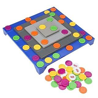 Girevole Twisted Four-in-a-Row Gioco Giocattolo per Bambini Bambini Garosa