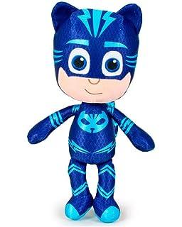 PJ Masks Héroes en Pijamas 5962 Peluche, 34 Centímetros, Calidad Super Suave, Gatuno