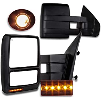 For Ford Towing Mirrors Scitoo Exterior Accessories Mirrors For   Ford F Truck With Power Controlling Heated Amber Turn Signal Manual Telescoping