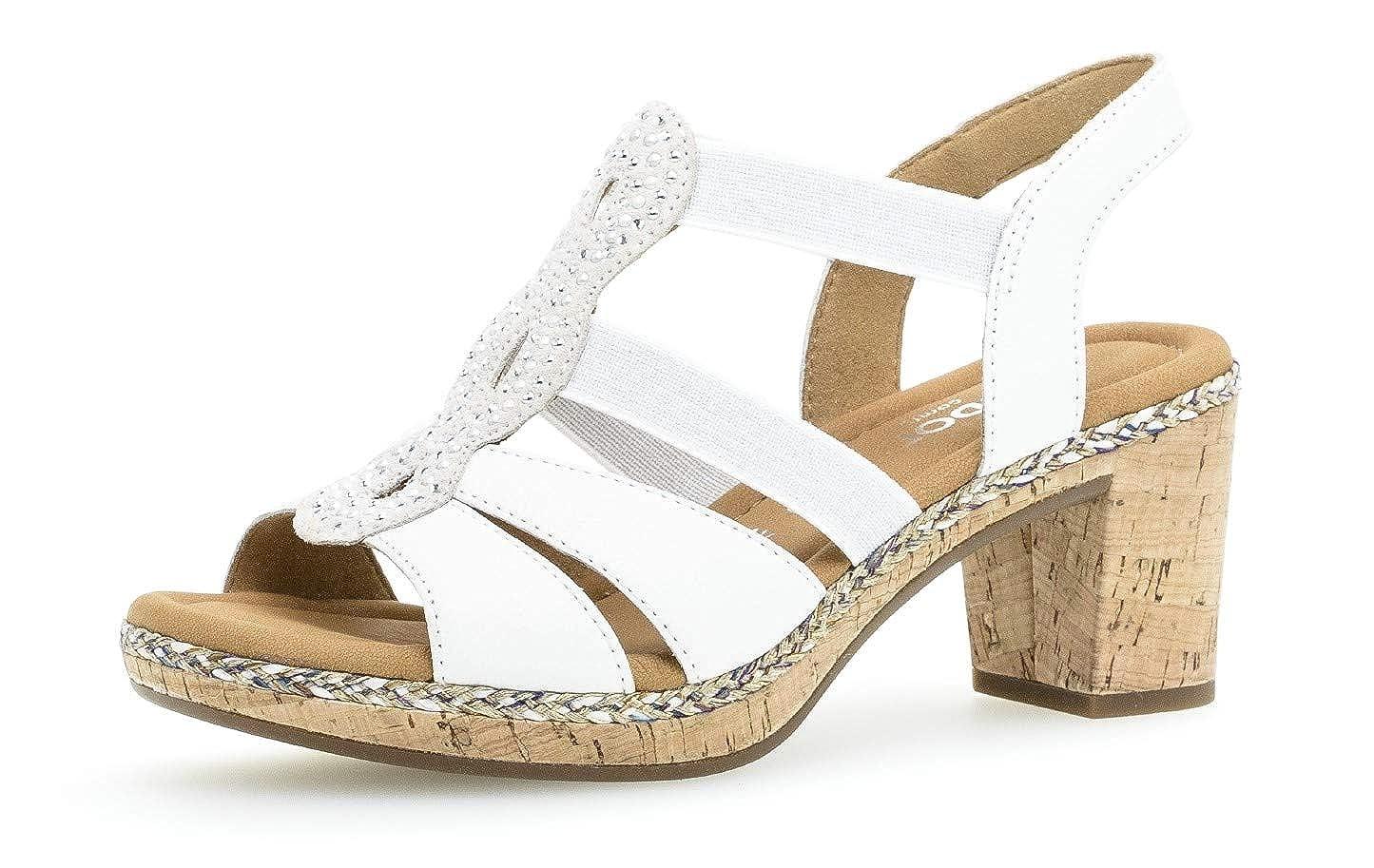 Gabor Damen Sandaletten 22.774, Frauen Sandaletten,Sommerschuhe,Absatzschuhe  | Kompletter Spezifikationsbereich  | Verschiedene Stile und Stile