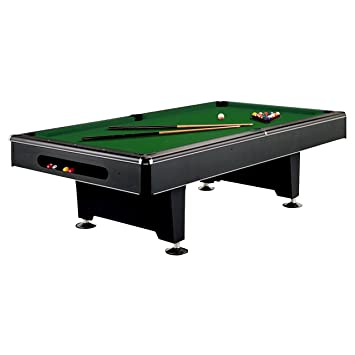 Imperial Eliminator 8 Foot Pool Table   Green Cloth With Exclusive  Accessory Bundle: Billiard Ball