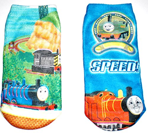 Thomas the Train Toddler Socks - 2 Pair Size 4 inch (Thomas And Friends Costumes)