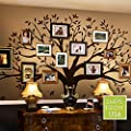 Simple Shapes Family Tree Wall Decal by