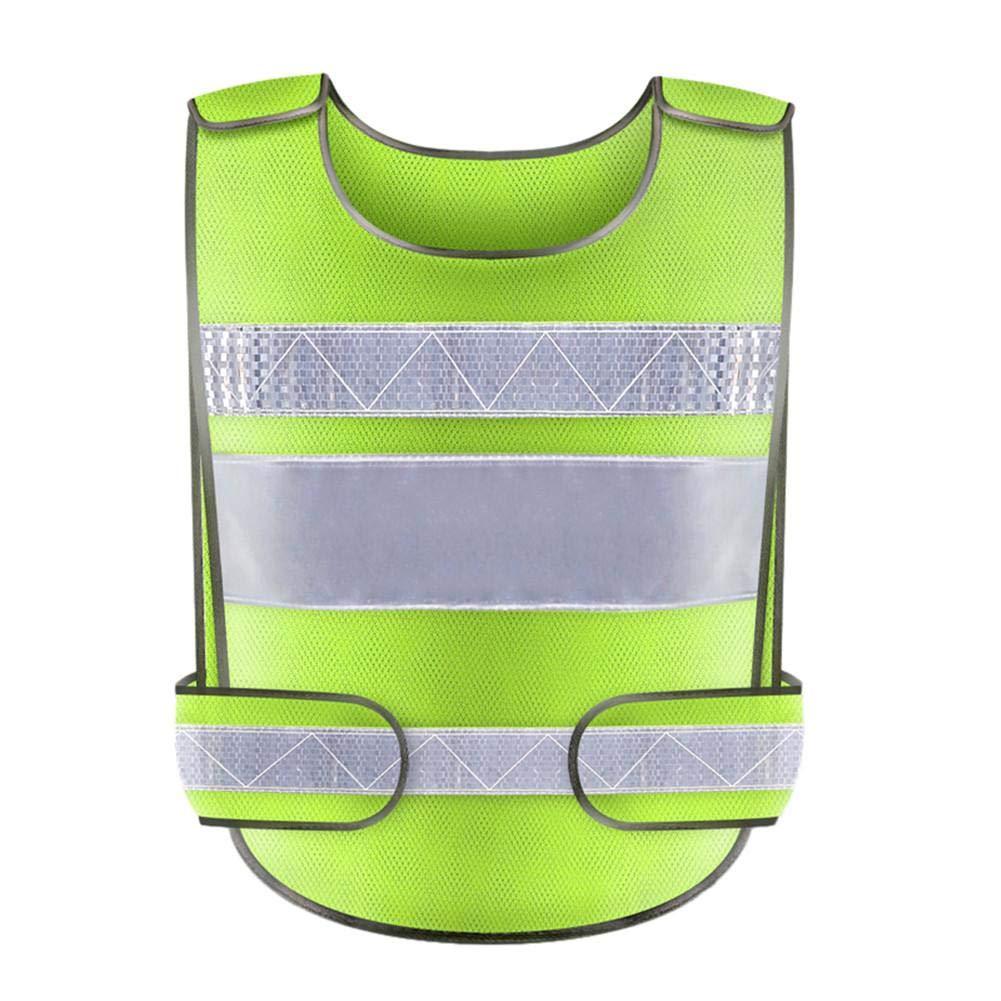 Hola Vis Viz Ejecutivo de Alta Visibilidad Chaleco de Trabajo Top de Chaleco Reflectante Ropa de Trabajo Reflectante Chaleco de Seguridad Top SH-Flying Top de Chaleco Reflectante