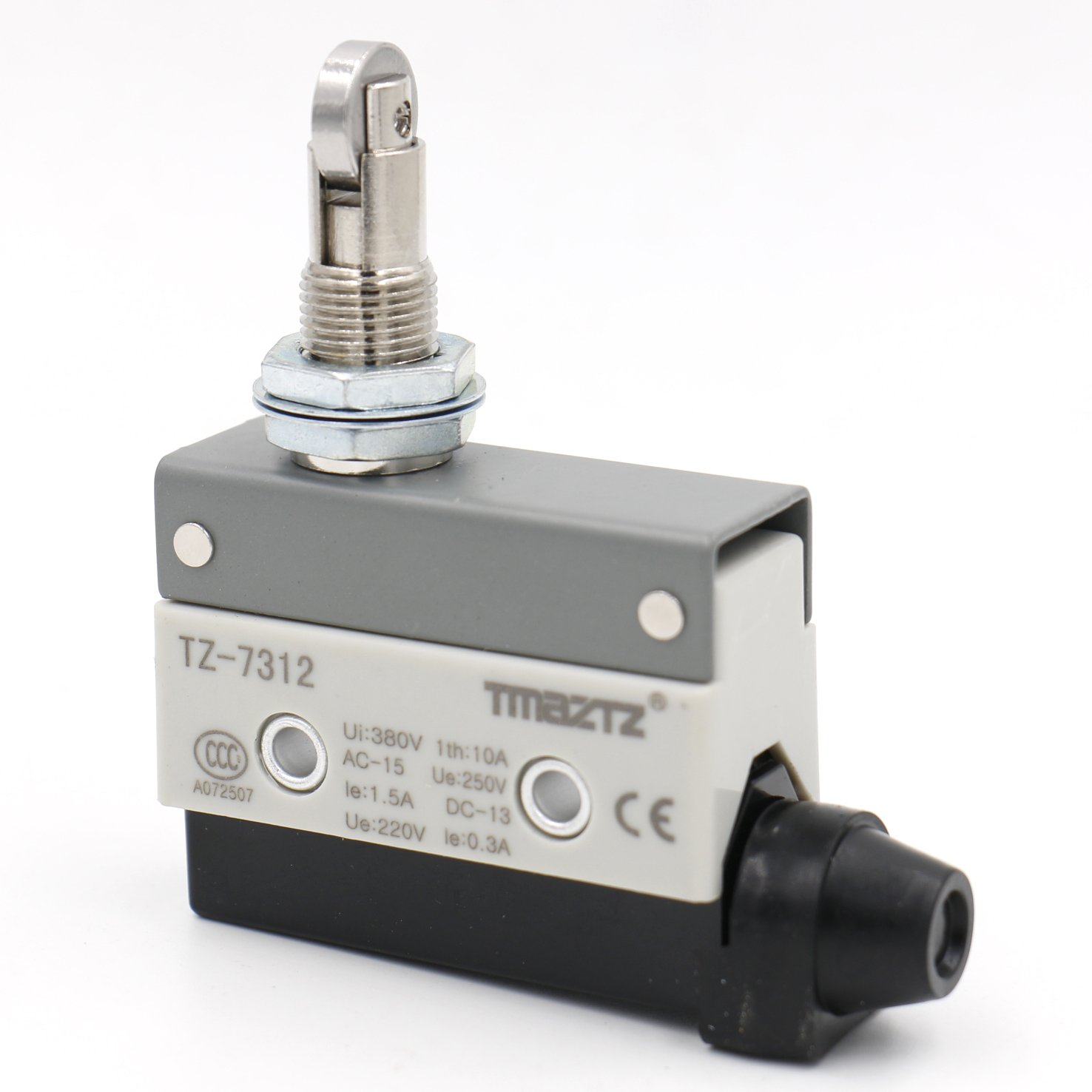 Heschen horizontal Limit Switch Tz-7312  Momentray Cross Rouleau Piston actionneur AC 380  V 10  A unipolaire Yongde Industrial switch