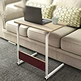 Living room removable small square table / simple modern mobile small coffee table / side cabinet partition rack ( Color : B )