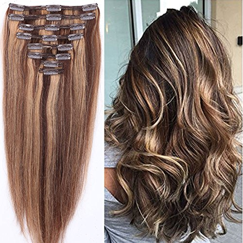 """s-noilite 10""""-22"""" Thick Double Weft 130-160g Grade 7A 100..."""
