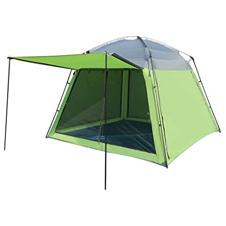 Wnnideo PU Cabin Tent 5 Person Family Tents for C&ing Green Easy Up Screen House  sc 1 st  Amazon.com & Amazon.com : Wnnideo PU Cabin Tent 5 Person Family Tents for ...