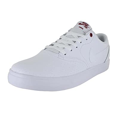 Nike Hombres Sb Check Blanco Solar Prm Zapatos  Blanco Check Blanco 7199c5