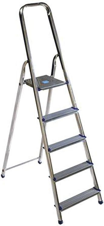Escalera Aluminio Tubesca Alu Eco Plus 6 peldaños a cartilla MT 3,19: Amazon.es: Bricolaje y herramientas