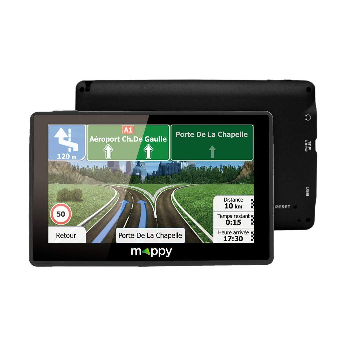 Mappy ULTI E538 GPS Eléments Dédiés à la Navigation Embarquée Europe Fixe, 16:9 3483070846513