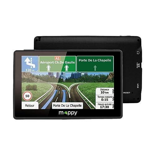 Mappy ULTI E538 GPS Eléments Dédiés à la Navigation Embarquée Europe Fixe, 16:9