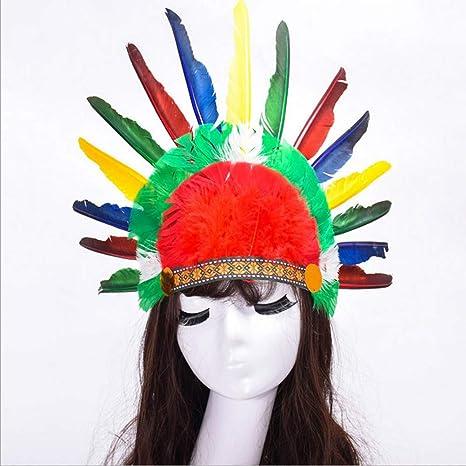 YeahiBaby Cappello in capretto colorato per bambini Cappello in copricapo  creativo per bambini Cappello per copricapo 06f01484650f