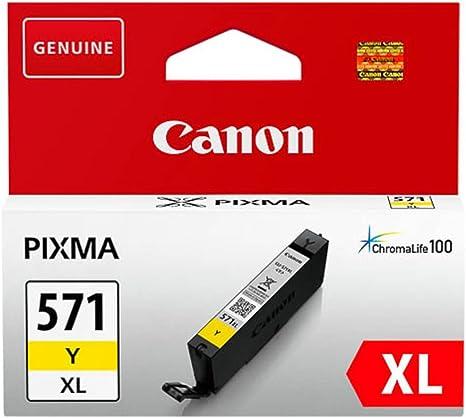Canon Original – Canon PIXMA MG 5750 (cli-571 YXL/0334 C 001 ...