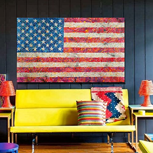 Our Flag Limited Edition Spencer Couture Patriotic  Wall Art