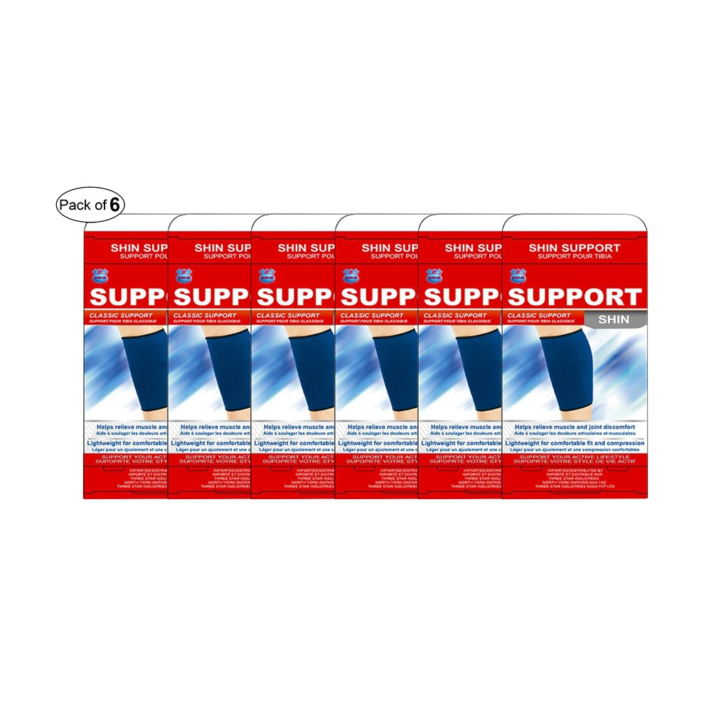 Instant Aid Shin Support (Pack of 6)