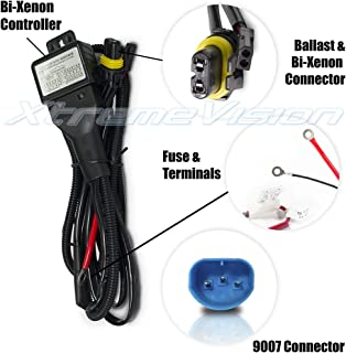 61tTDg2A9ML._AC_UL320_SR310320_ amazon com o nex hid relay harness 9007 (hb5 9004) 12v 35w 55w bi 55w hid wiring harness at edmiracle.co