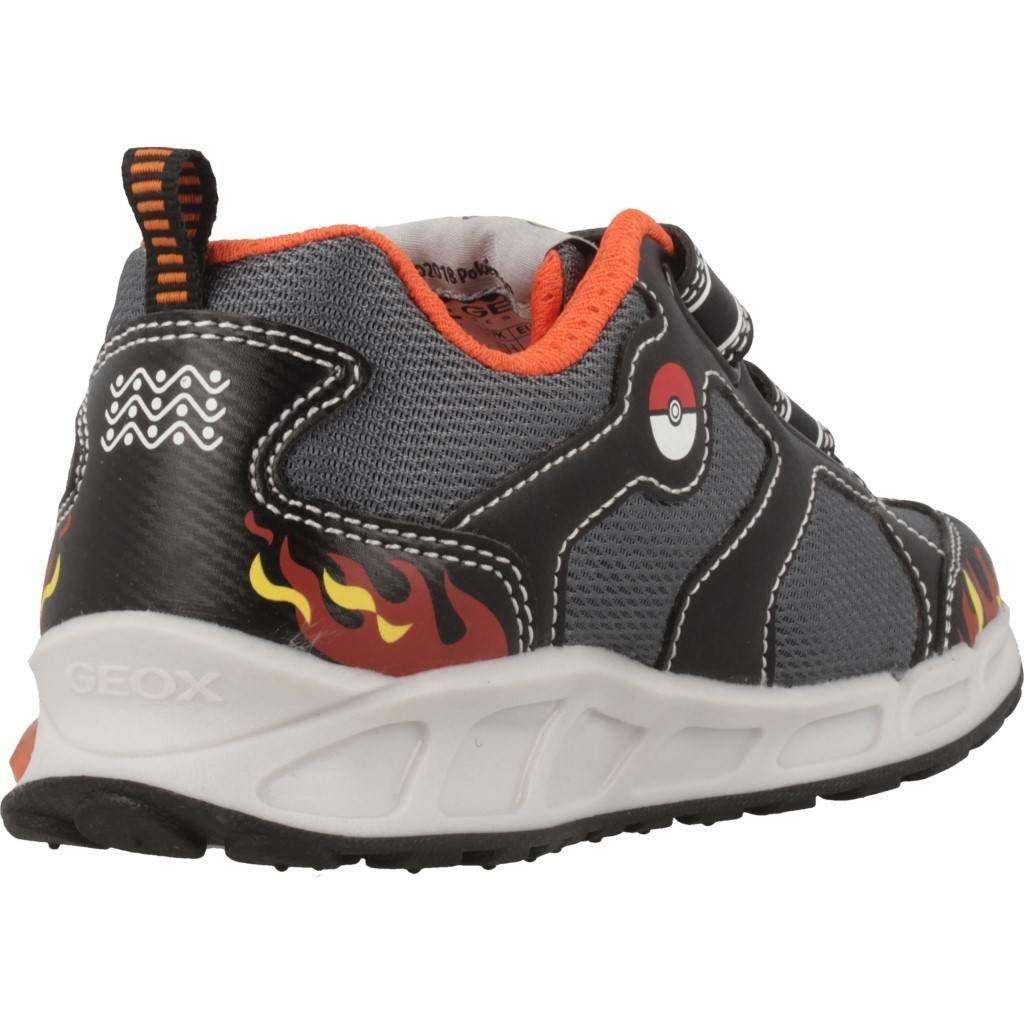 Modelo Zapatillas para Ni/ño GEOX J Shuttle Boy Azul Marca GEOX Color Azul Zapatillas para ni/ño