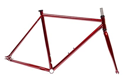 Amazon.com : State Bicycle Co. Fixed Gear Fixie Chromoly Frame and ...