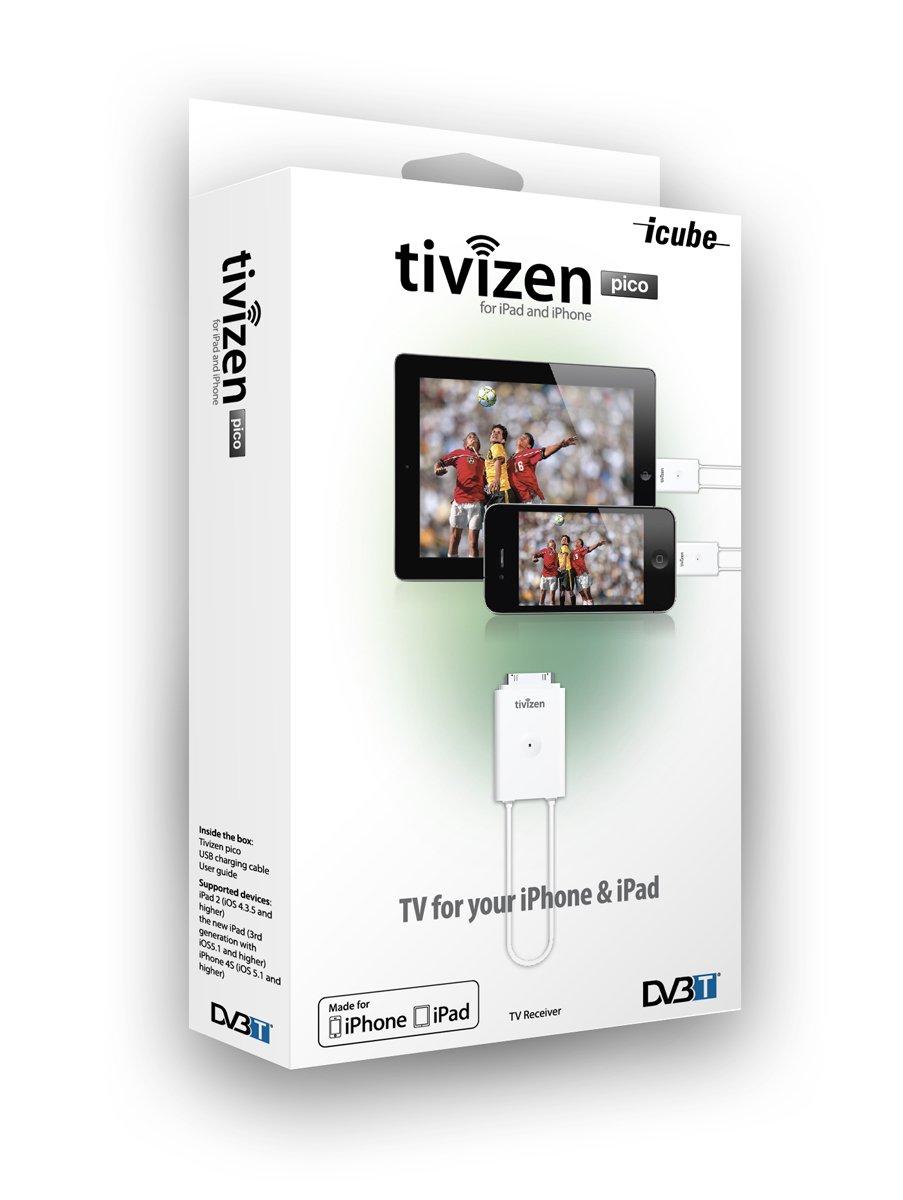 ICUBE Tivizen Pico Android DVB-T Empf/änger mit micro-USB