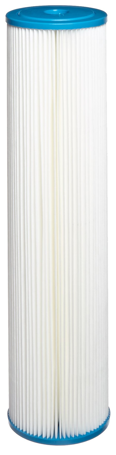 Hydronix SPC-45-2005 Polyester Pleated Filter 4.5'' OD X 20'' Length, 5 Micron by Hydronix