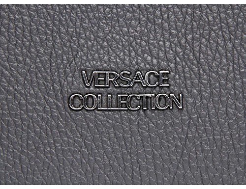 VERSACE COLLECTION Bolso business Hombre gris
