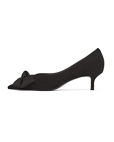 13f71ec31f1 Zara Women s Mid Heel Shoes with Bow 2212 001  Amazon.co.uk  Shoes ...