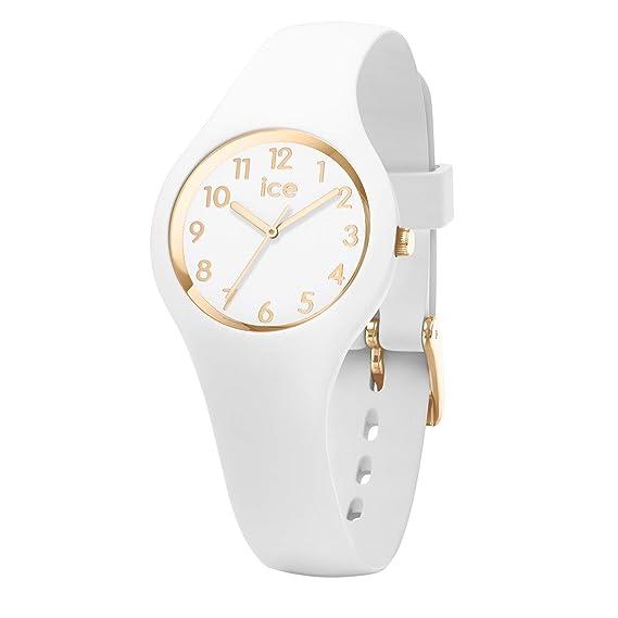 Ice-Watch Reloj Analógico para Mujer de Cuarzo con Correa en Silicona 15341: Amazon.es: Relojes