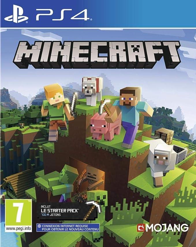 Minecraft Bedrock pour PS4 [Importación francesa]: Amazon.es: Videojuegos