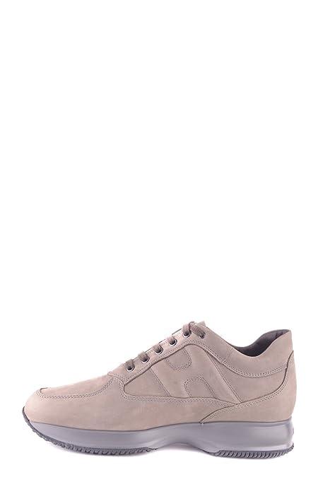 Hogan Sneakers Uomo Mcbi148348o Pelle Grigio hYOwu