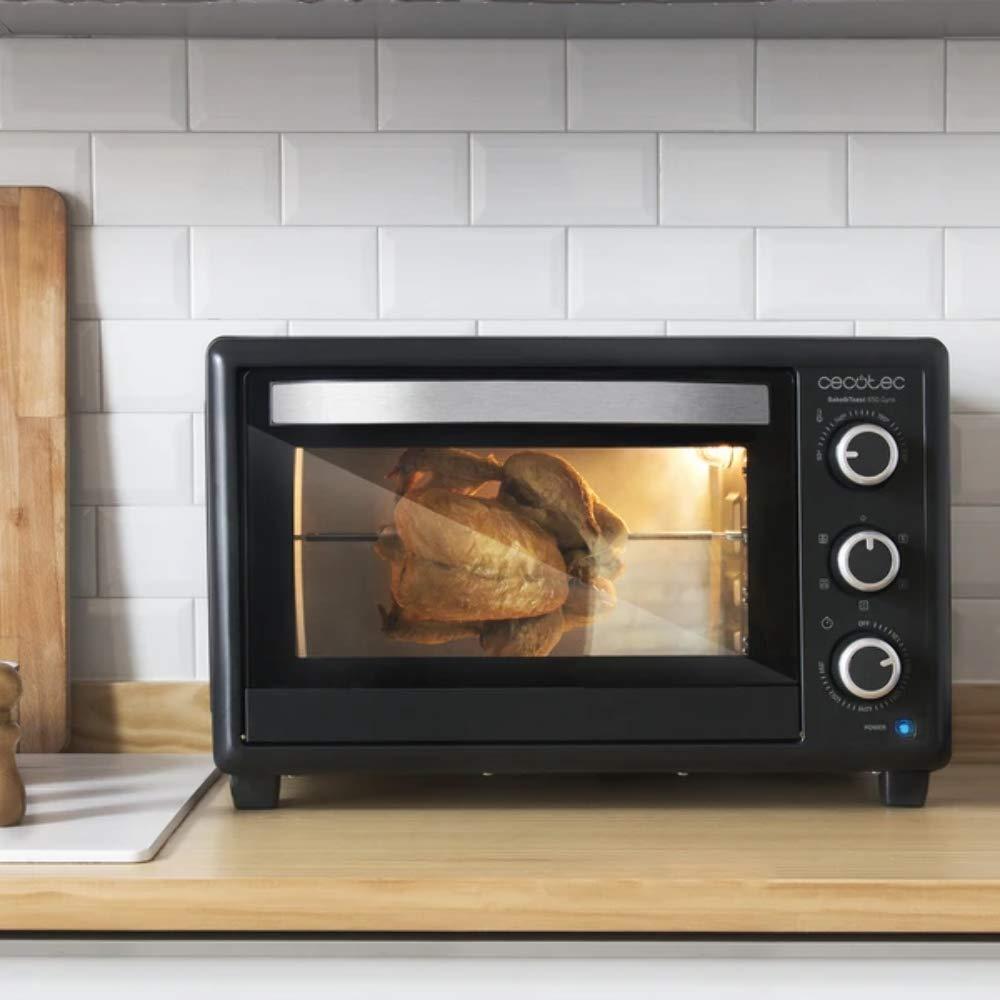 Cecotec Horno Conveccion Sobremesa Bake&Toast 650 Gyro. Capacidad ...