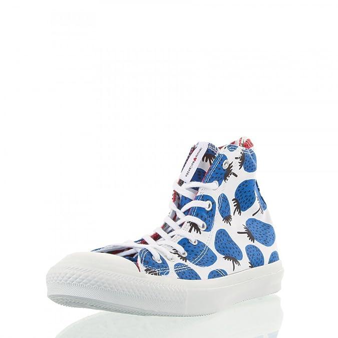 Converse CT Premium Hi White/Blue - 537174C EU 37 / UK 4.5