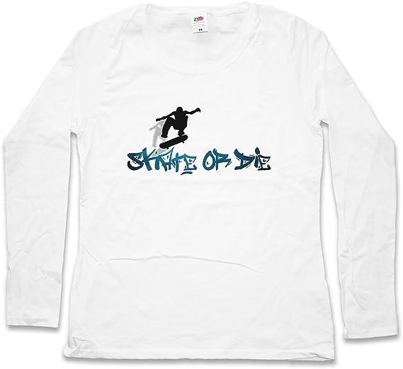 Urban Backwoods Skate Or Die Women T-Shirt Mujer Camiseta de ...