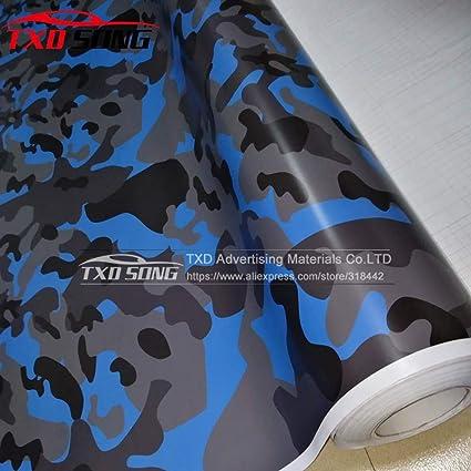 Amazon.com: Snow Camo Vinyl Film Camouflage Vinyl Wrapping ...