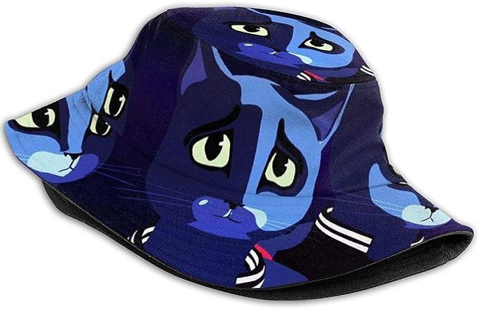 Vintage Outdoor-Hut//Bucket Hat Frauen HOLEBBBE Bucket Hat Unisex Bucket Hat Slip-k-not Klassischer Outdoor-Sonnenhut Fishman-H/üte Packbar Caps F/ür M/änner