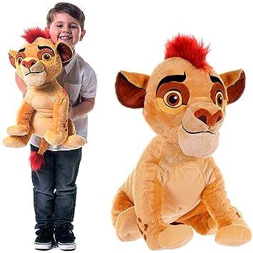 Peluche grande XXL Figura kion de León de peluche de la Garde el rey león Disney