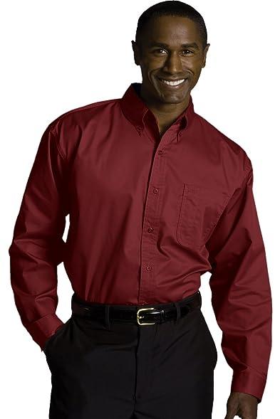 Ed Garments Men S 1750 Dress Shirts Burgundy At Amazon Men S